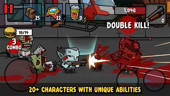 Zombie Age 3 Mod Apk 1.7.7 Latest (Unlimited Money + Ammo) 5