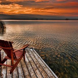 Sunset Chair by Carl Chalupa - Uncategorized All Uncategorized