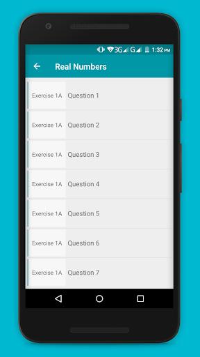 RS Aggarwal Maths Class 9 Solution  screenshots 3