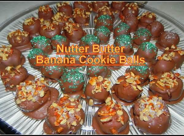Nutter Butter Banana Cookie Balls