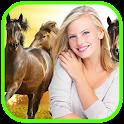 Horse Photo Frames Editor icon