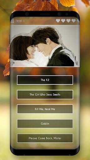 Korean Drama Quiz  captures d'écran 2