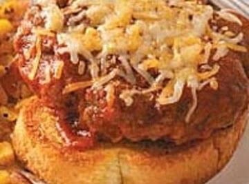 Open Faced Texas Burger Recipe