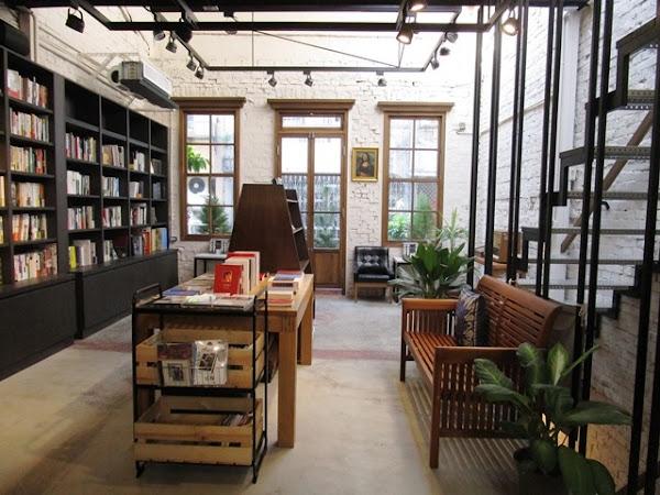打鐵街上的老宅咖啡書店~浮光書店