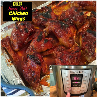 Honey BBQ Wings Ingredients.