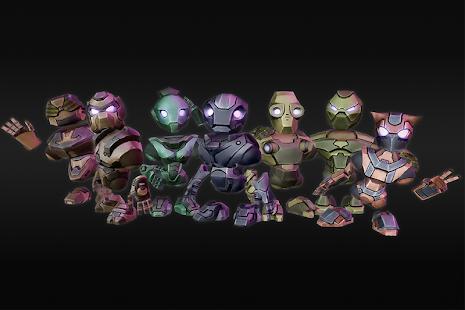 Magnobots - Endless Runner Imagen do Jogo