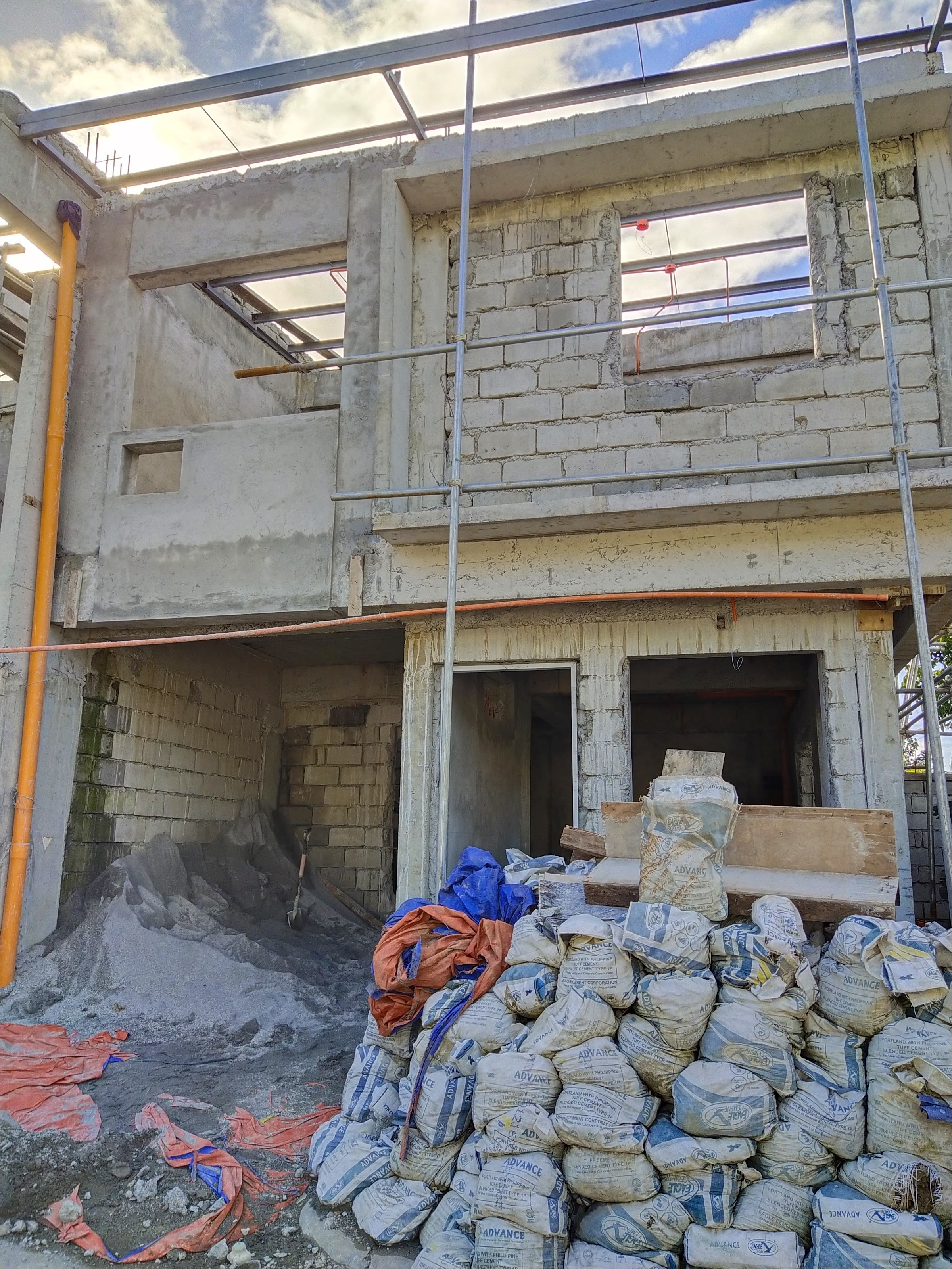 Blu Homes Gakakan January 2021 construction update