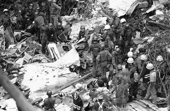 12 августа 1985 года, Катастрофа Boeing 747 под Токио