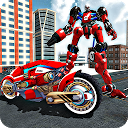Real Motorbike Transform Robot APK