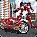 Tron Bike Transform Robot icon