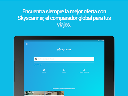 Skyscanner – Vuelos, hoteles y coches Screenshot