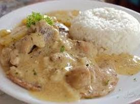 Pork Steak With Mushroom Gravy Recipe
