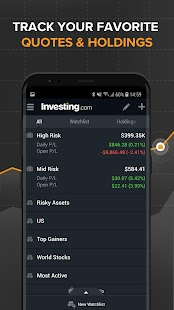 Stocks, Forex, Bitcoin, Ethereum: Portfolio & News Screenshot