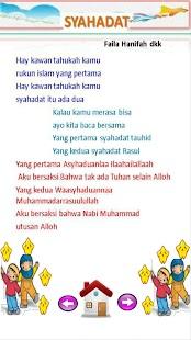 Lagu Anak Muslim Juzamma screenshot 10