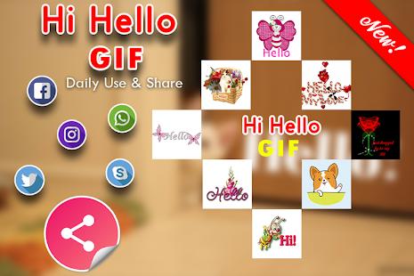 Hi Hello GIF for PC-Windows 7,8,10 and Mac apk screenshot 6
