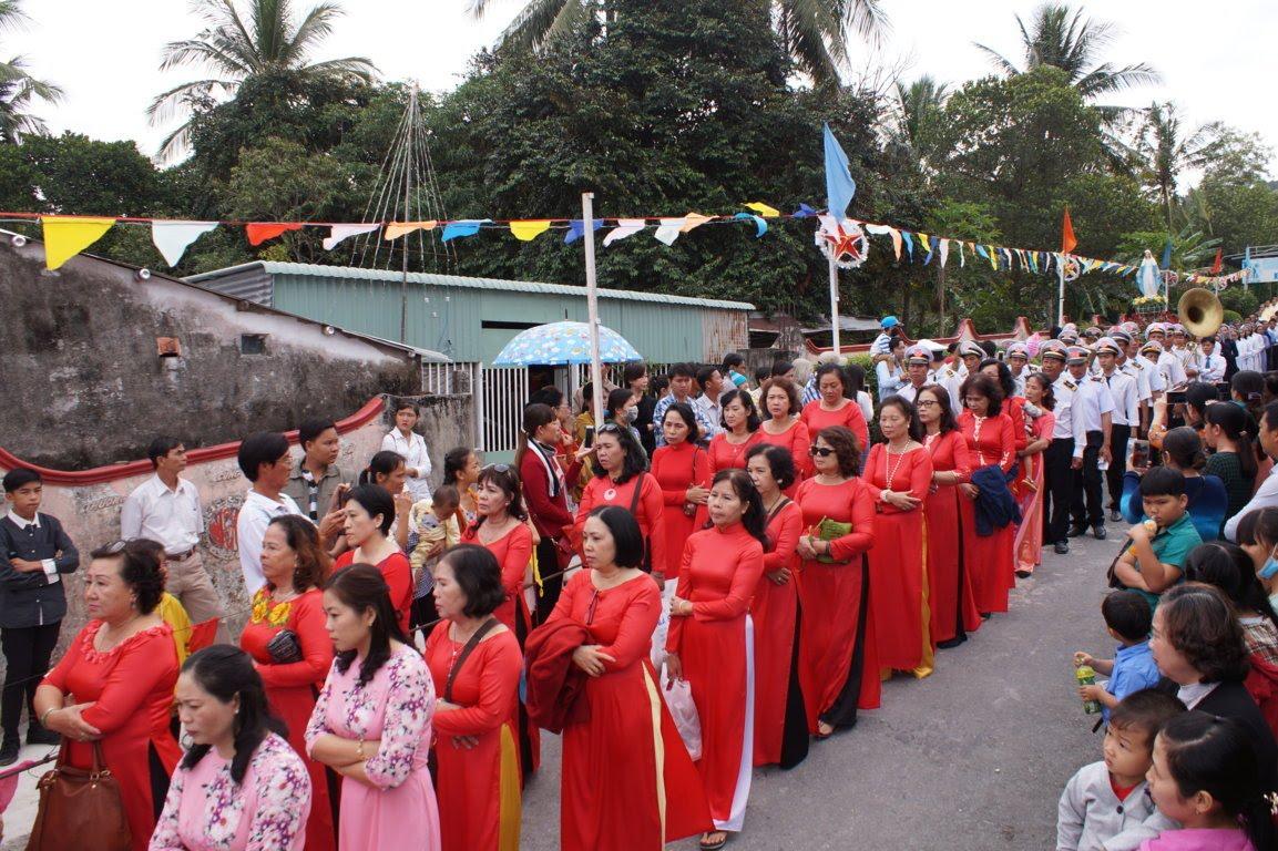 Ngày Hành Hương Mừng Bổn Mạng Giáo Phận Long Xuyên, tại GX Hòn Chông - Ảnh minh hoạ 7