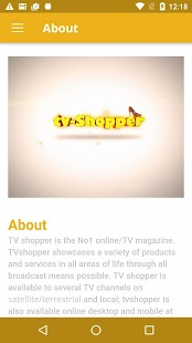 myTVshopper- screenshot thumbnail