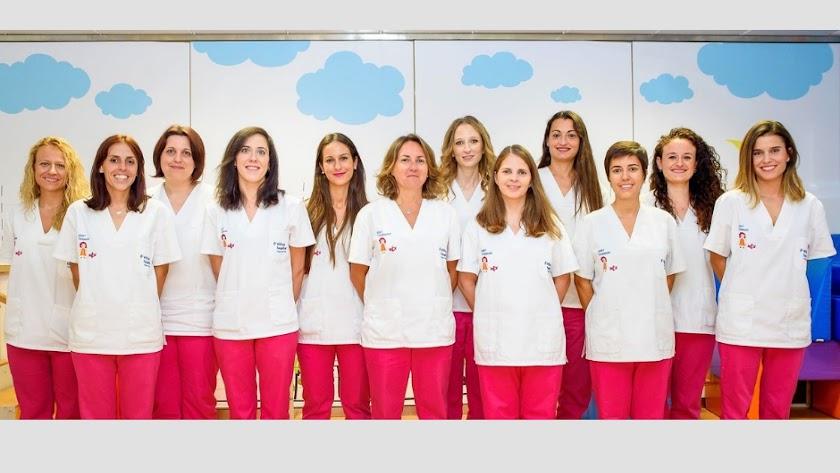 Equipo de profesionales de la Udiat Vithas Virgen del Mar Almería.