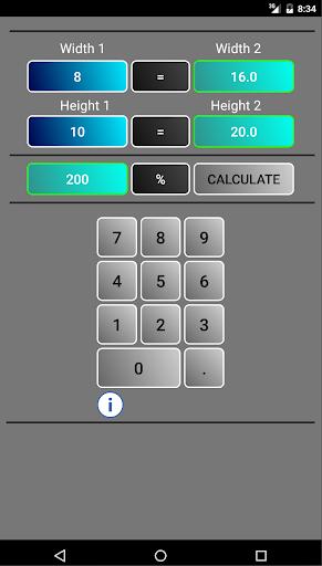 Graphic Proportion Calculator