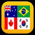 Quiz Logo : World Flags icon