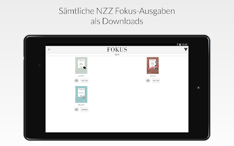 NZZ Fokus screenshot 4