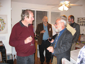 Photo: Professors Louis Narens and Brian Skyrms