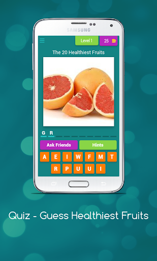 Quiz - Guess Healthiest Fruits  screenshots 1