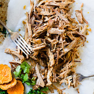 Juicy, Cuban Pulled Pork {Paleo, Gluten-Free, slow-cooker option}.