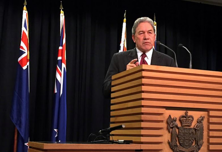 Winston Peters said coalition offers from English's National Party and Ardern's Labour would be put to the NZF board on Monday for a final decision.