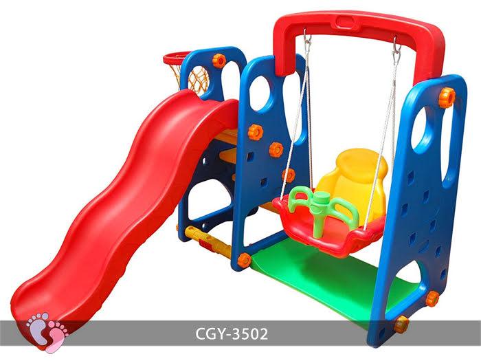 Cầu trượt trẻ em đa năng YGC-3503 12