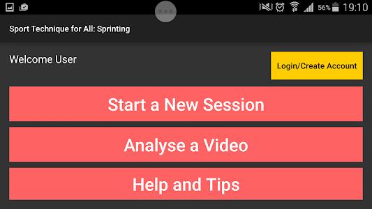 Sport Technique for All:Sprint screenshot 0