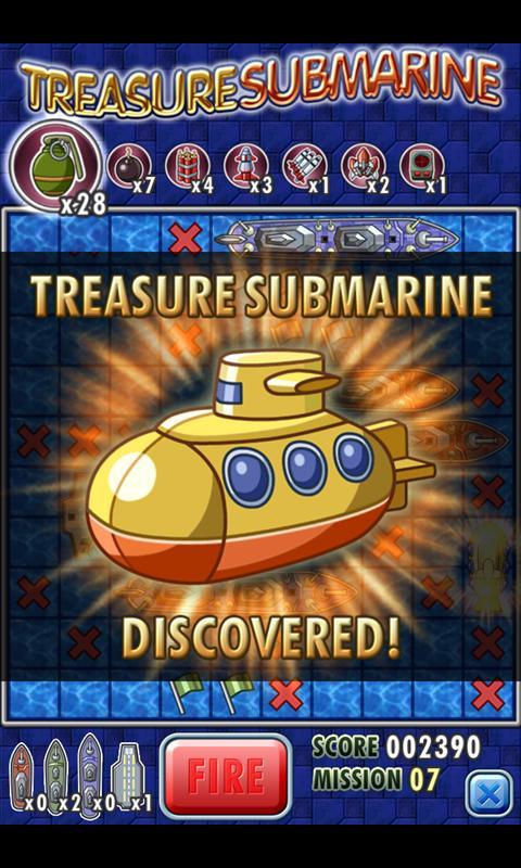 Скриншот Treasure Submarine