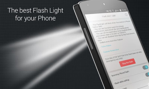 Flash alerts Call SMS