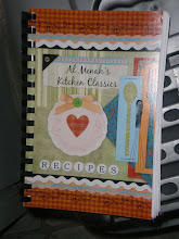 Photo: and since the entire event was free, I purchased a cookbook for Kalonji.  Proceeds go to new curtains for their building.