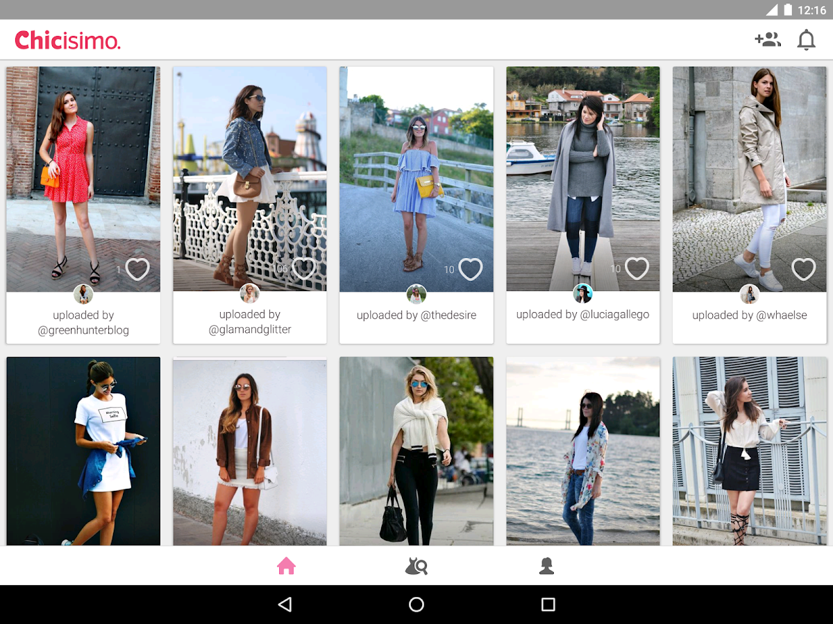 Chicisimo Outfit ideas planner- screenshot