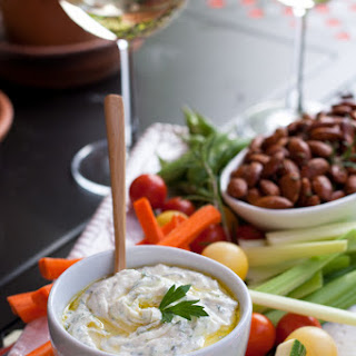 Herb And Goat Cheese Dip.