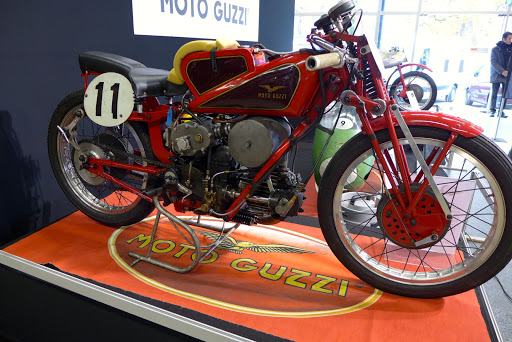 Moto Guzzi racer whith supercharger.