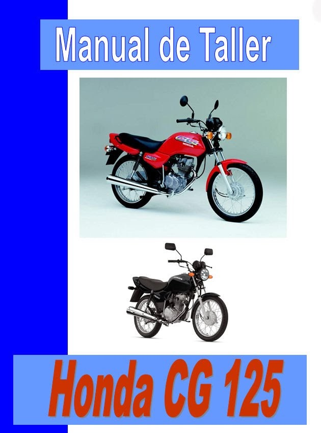 honda cg 125 Today  -manual-taller-mecanica-despiece