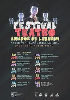 XX Festival Nacional de Teatro Amador - Grupo de Teatro Aldeia Verde - Lazarim - 2019