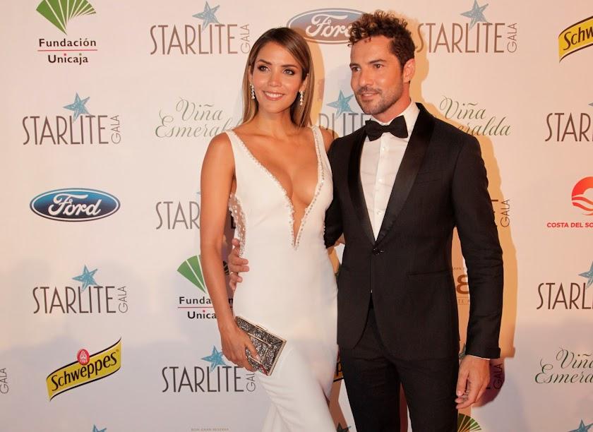 David Bisbal y Rosanna Zanetti brillan en Marbella