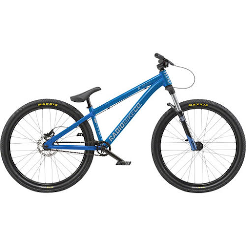"""Radio Griffin 26"""" BMX Bike - 22.8"""" TT, Metallic Blue"""