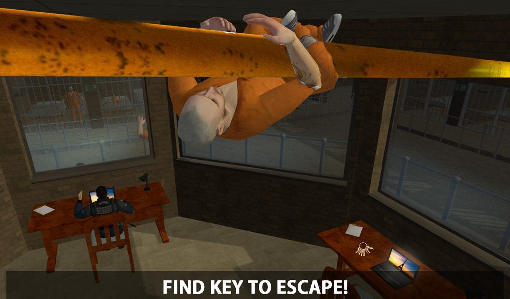 Prison Escape Alcatraz Jail 3D- screenshot