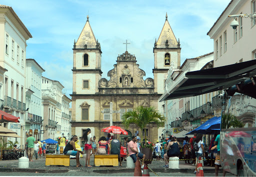 church4.jpg - A church and public plaza in the historic district.