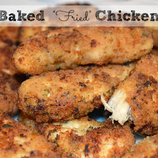 "Baked ""Fried"" Chicken Tenderloins."