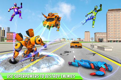 Deer Robot Car Game u2013 Robot Transforming Games apktram screenshots 3