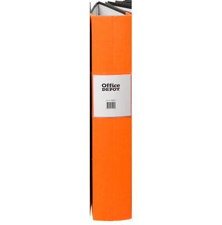 Träryggspärm A4 60 mm orange