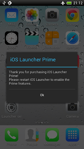 Launcher for iOS Prime