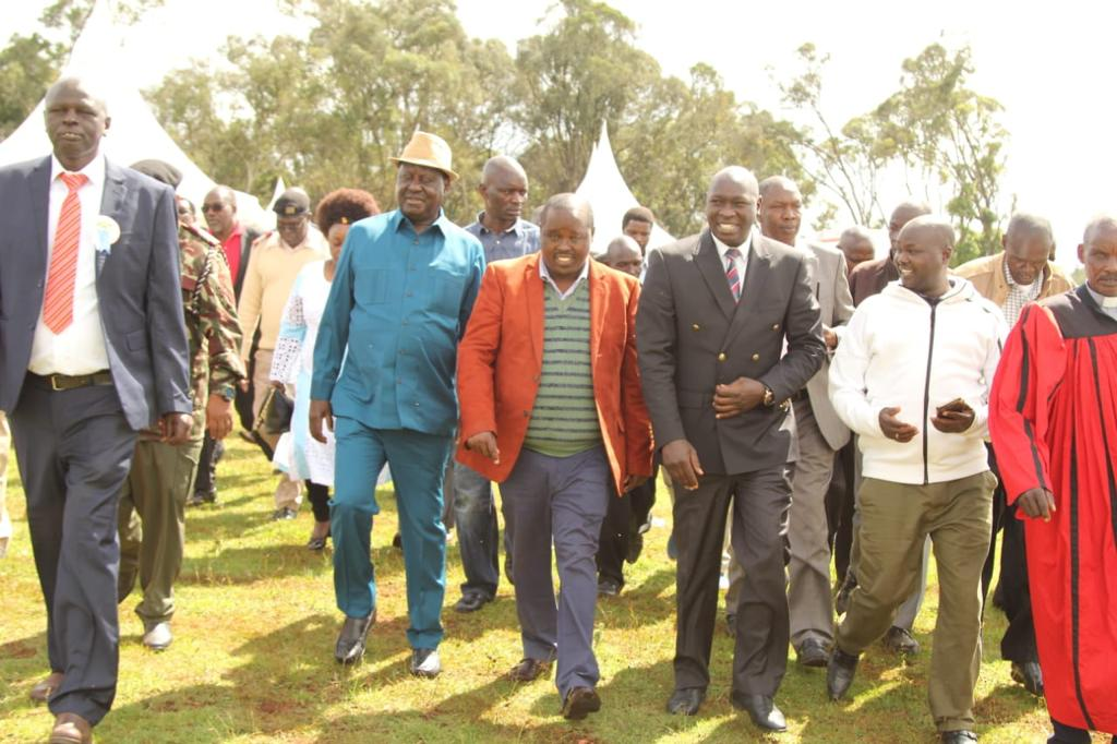 Image result for William Tolgos visits Raila