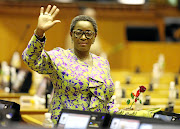 Former social development minister Bathabile Dlamini is still pointing fingers  over social grants  debacle.