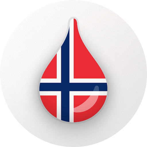 Drops: Learn Norwegian language and words for free Icon